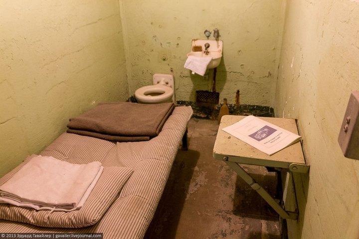 Алькатрас — легендарная тюрьма Америки (29)