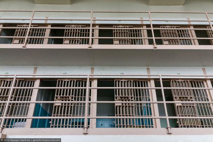 Алькатрас — легендарная тюрьма Америки (31)