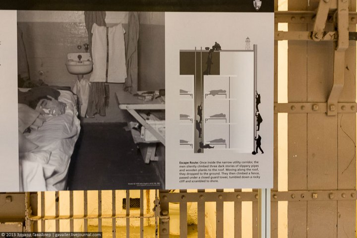 Алькатрас — легендарная тюрьма Америки (6)
