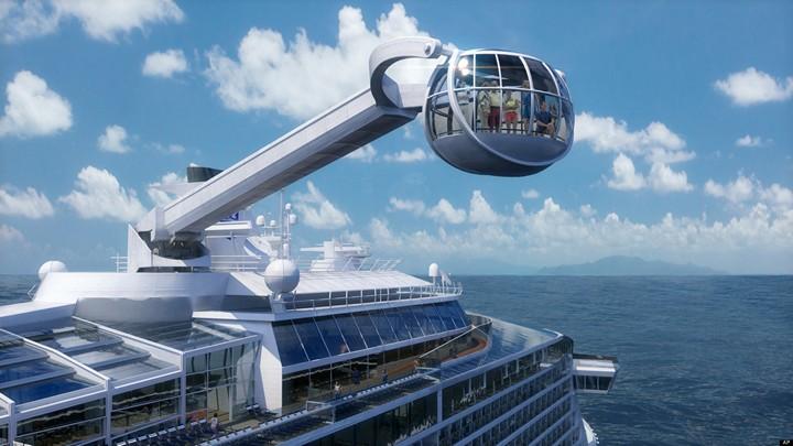 Роскошный круизный корабль Quantum of The Seas, новый круизный лайнер (4)