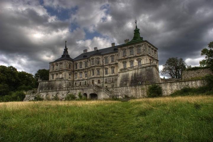Старый заброшенный замок в Украине. Абандон. Подгорецкий замок (1)