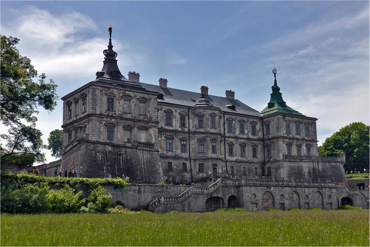 Старый заброшенный замок в Украине. Абандон. Подгорецкий замок (3)