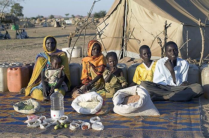 Что съедают семьи из 15 стран мира за неделю (13)