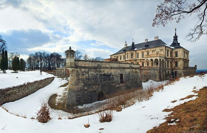 Старый заброшенный замок в Украине. Абандон. Подгорецкий замок (4)