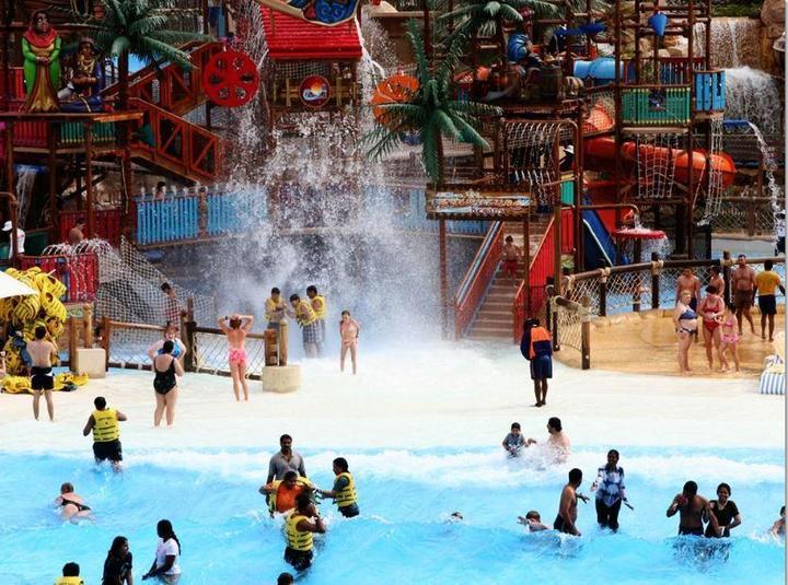 Вайлд Вади — Аквапарк в Дубае (5)