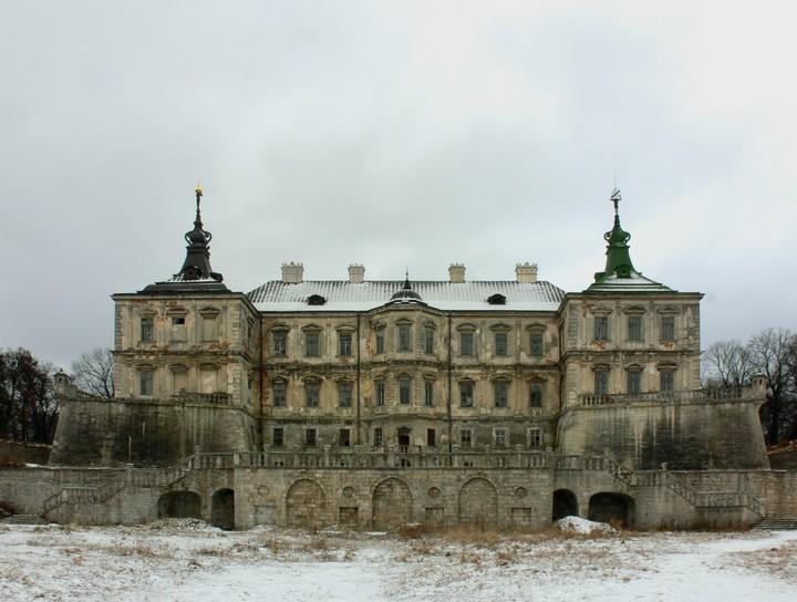 Старый заброшенный замок в Украине. Абандон. Подгорецкий замок (6)