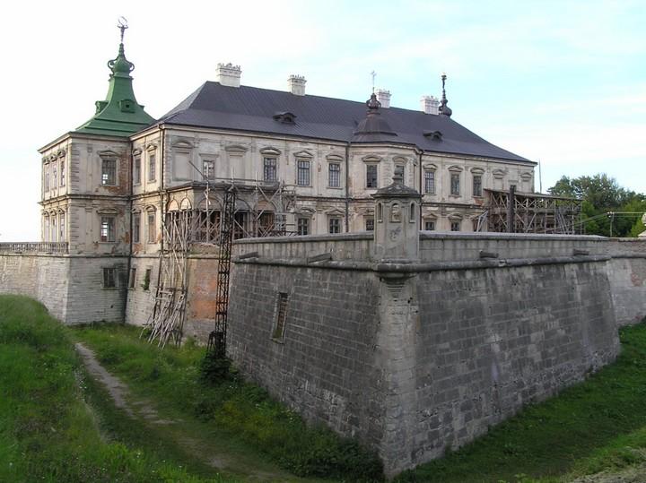Старый заброшенный замок в Украине. Абандон. Подгорецкий замок (9)