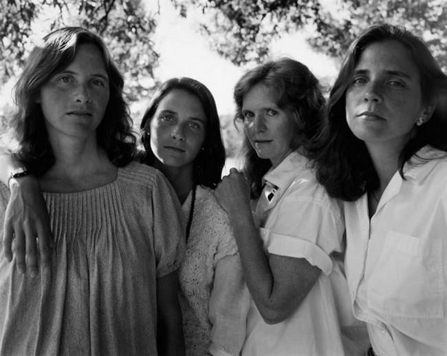 каждый год по фото, как стареют люди, четыре сестры (11)