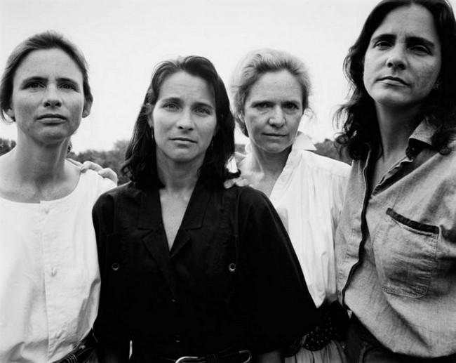 каждый год по фото, как стареют люди, четыре сестры (17)