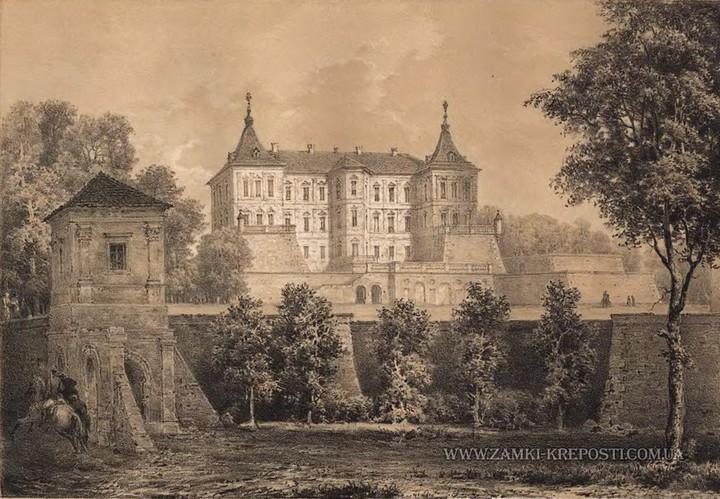 Старый заброшенный замок в Украине. Абандон. Подгорецкий замок (17)