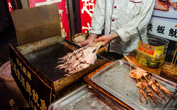 Необычная еда в Китае (17)