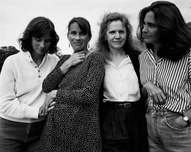 каждый год по фото, как стареют люди, четыре сестры (18)