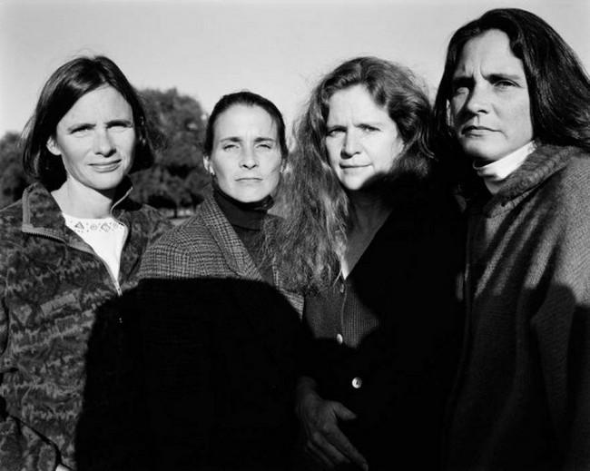 каждый год по фото, как стареют люди, четыре сестры (22)
