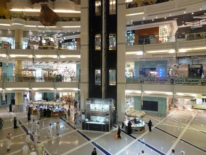 """Огромная башня с часами в Саудовской Аравии — """"Makkah Clock Royal Tower"""", мега стройка (22)"""