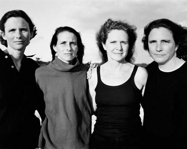 каждый год по фото, как стареют люди, четыре сестры (24)