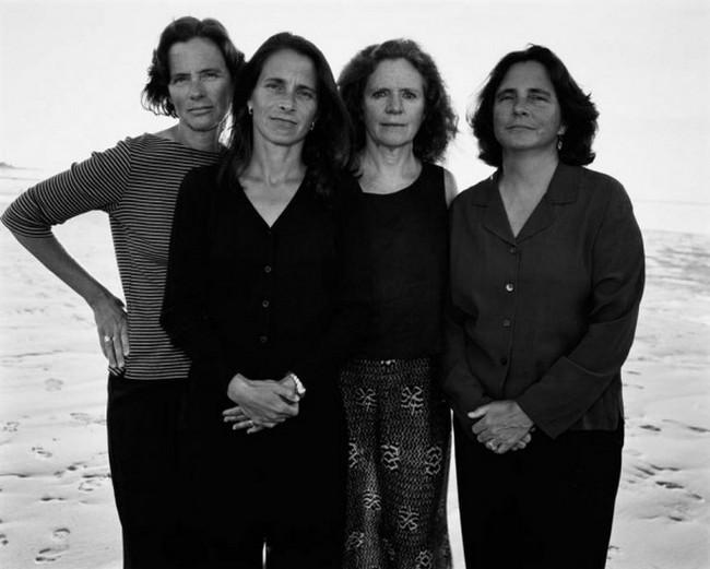 каждый год по фото, как стареют люди, четыре сестры (27)
