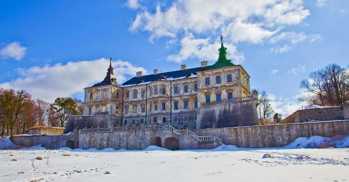 Старый заброшенный замок в Украине. Абандон. Подгорецкий замок (28)