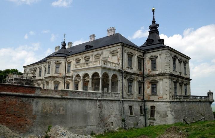Старый заброшенный замок в Украине. Абандон. Подгорецкий замок (29)
