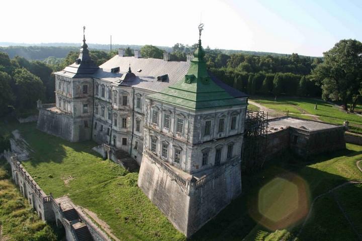 Старый заброшенный замок в Украине. Абандон. Подгорецкий замок (30)
