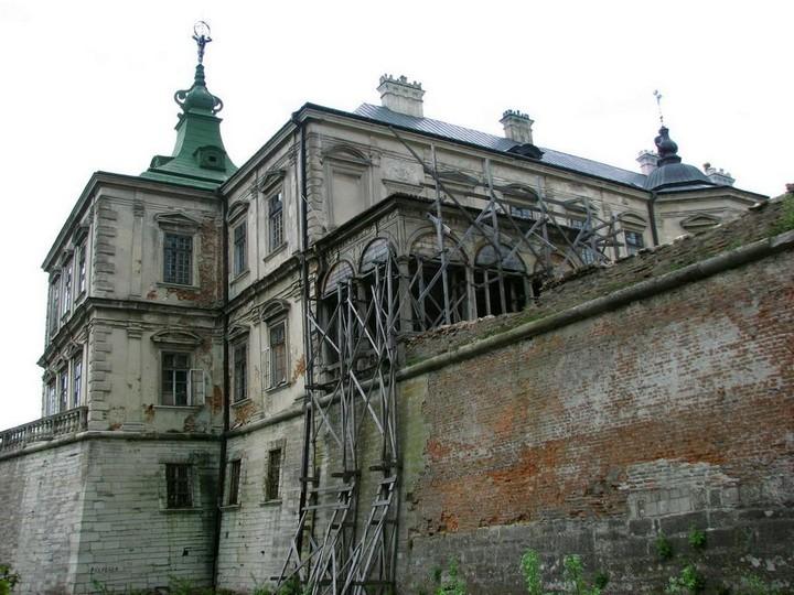 Старый заброшенный замок в Украине. Абандон. Подгорецкий замок (31)