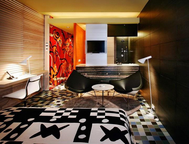 Hotel Puerta América необычный отель в Испании (31)