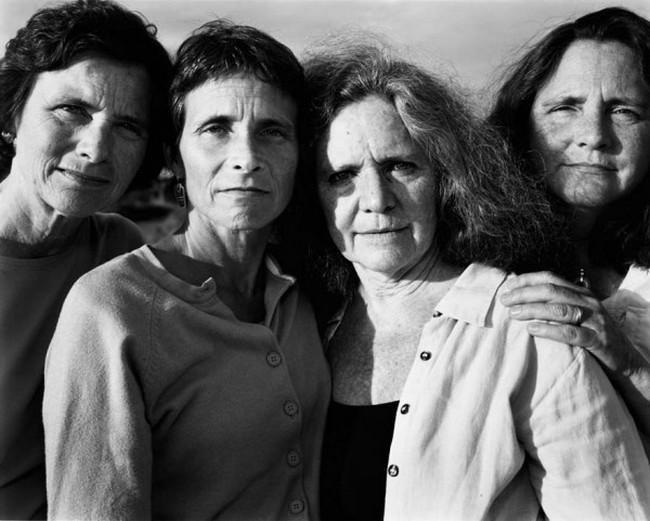 каждый год по фото, как стареют люди, четыре сестры (33)