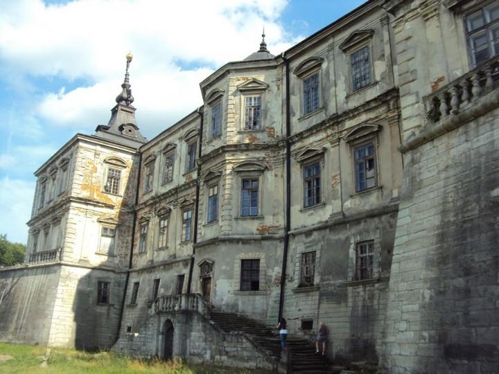 Старый заброшенный замок в Украине. Абандон. Подгорецкий замок (34)