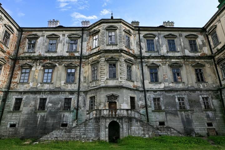 Старый заброшенный замок в Украине. Абандон. Подгорецкий замок (37)