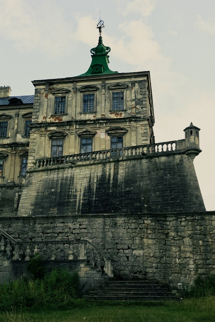 Старый заброшенный замок в Украине. Абандон. Подгорецкий замок (38)