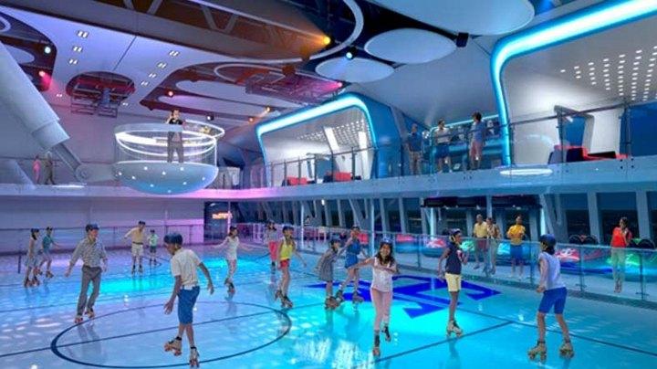 Роскошный круизный корабль Quantum of The Seas, новый круизный лайнер (11)