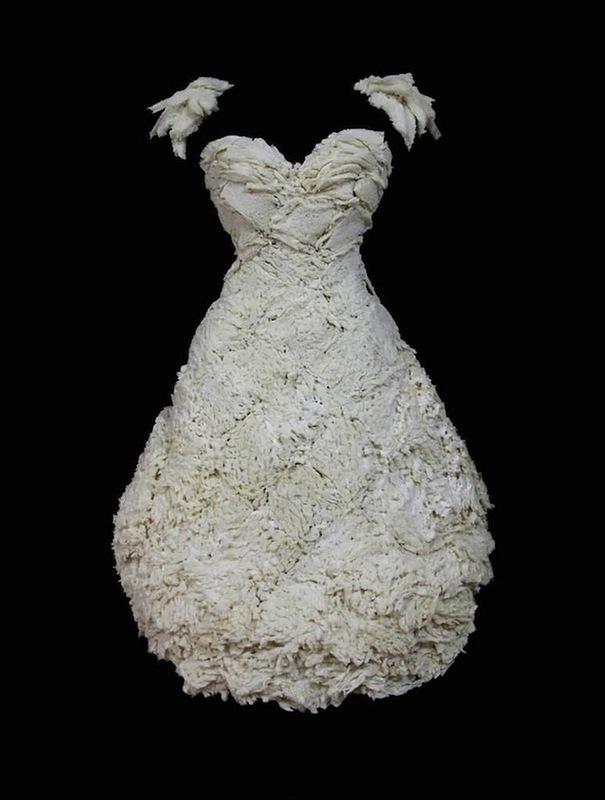Платья из еды, необычные платья (3)