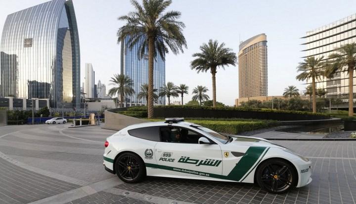 Раскошные полицейские машины в Дубаи (6)