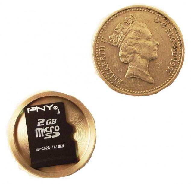 Шпионские монеты, необычные разборные монеты с пространством внутри (3)