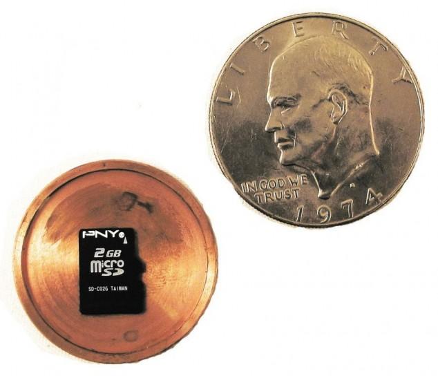 Шпионские монеты, необычные разборные монеты с пространством внутри (5)