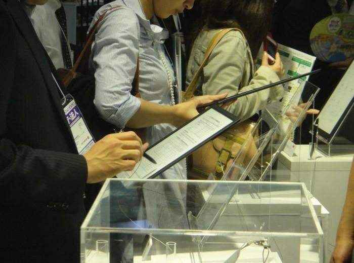 Электронная тетрадь SONY с экраном формата A4 1200 x 1600 пикселей (8)