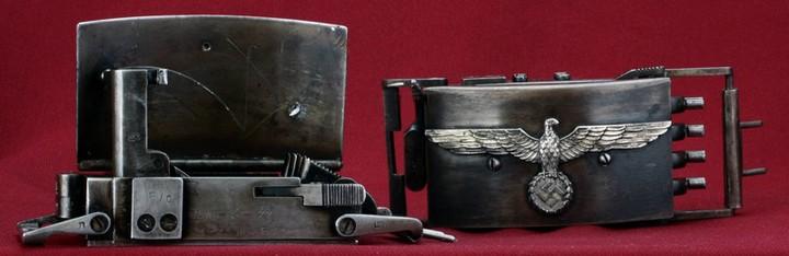 Пряжка-пистолет нацистских офицеров СС (10)