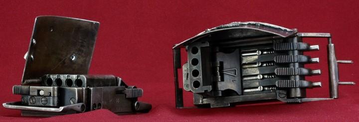 Пряжка-пистолет нацистских офицеров СС (11)