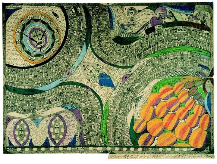 Что рисуют шизофреники, рисунки душевнобольных (4)