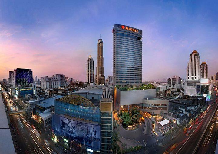 Город Бангкок - шумная столица Таиланда (3)