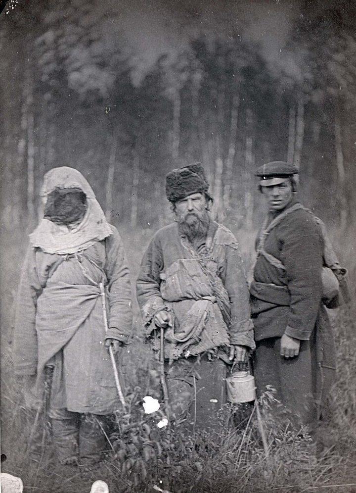Уникальные старые фотографии из каторги. Лица каторжан, фото каторжников (6)