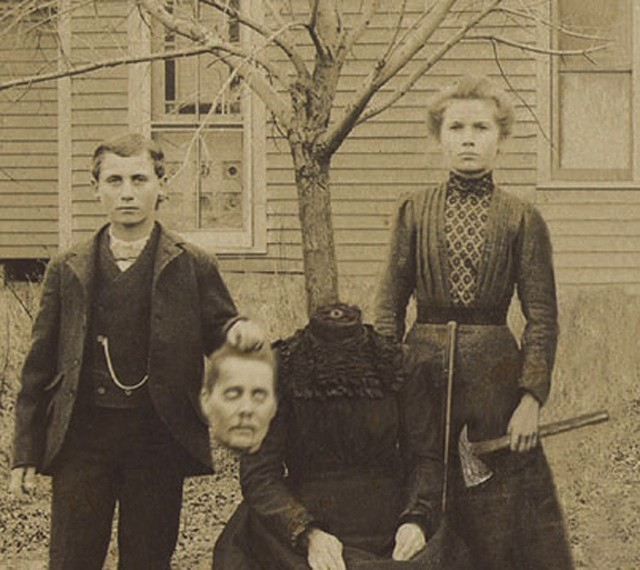 Старые фотографии без головы (11)