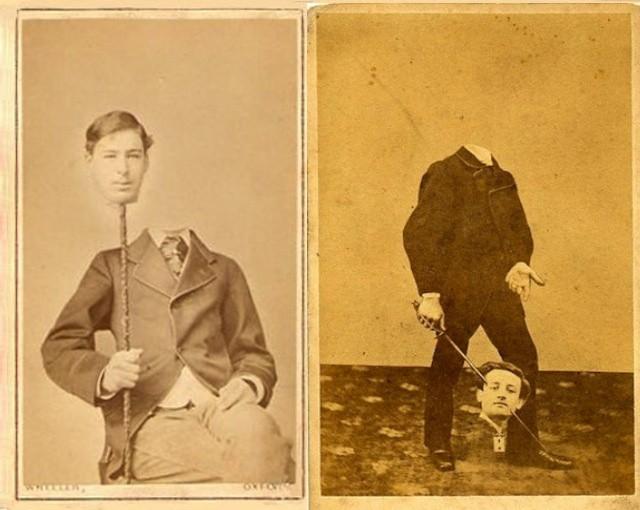 Старые фотографии без головы (9)
