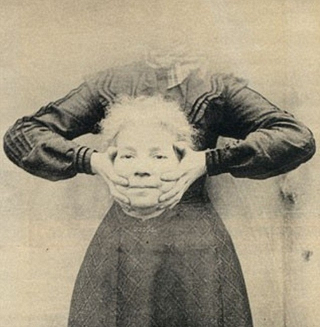 Старые фотографии без головы (2)