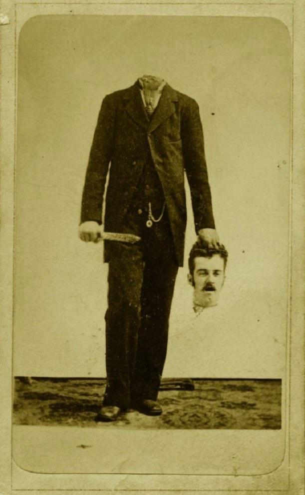Старые фотографии без головы (4)