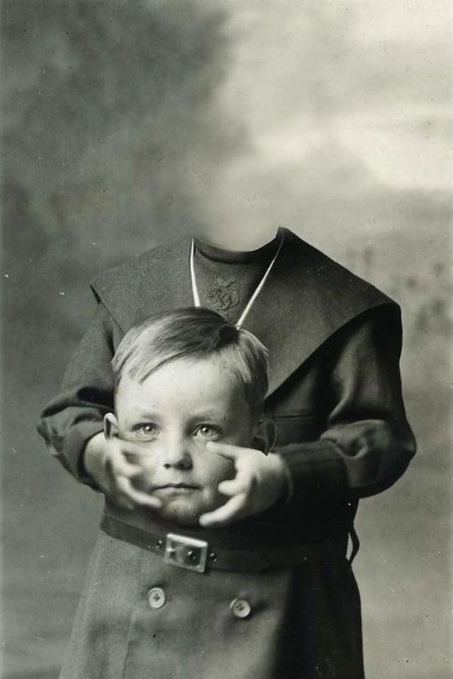 Старые фотографии без головы (3)