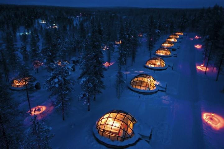 Самый необычный отель в Финляндии (1)