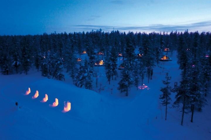 Самый необычный отель в Финляндии (2)