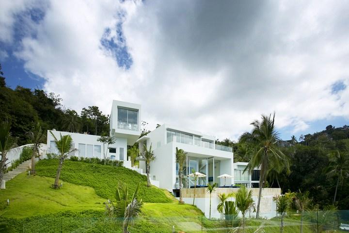 Роскошная вилла в Тайланде — Villa Beige, красивый отель с видом на море (3)