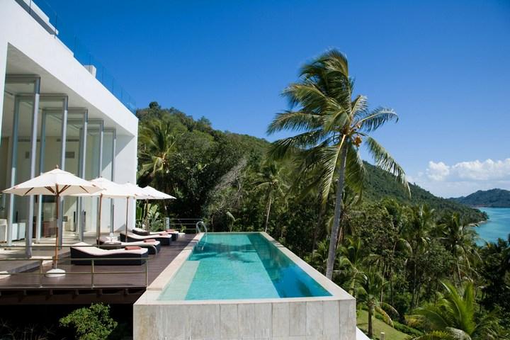 Роскошная вилла в Тайланде — Villa Beige, красивый отель с видом на море (4)