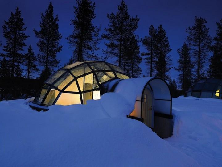 Самый необычный отель в Финляндии (4)